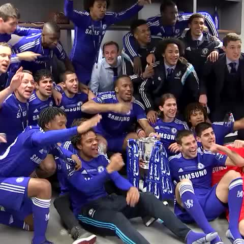 Vine by Chelsea FC - League Cup champions! #CFC #ChelseaFC #WembleyIsBlue