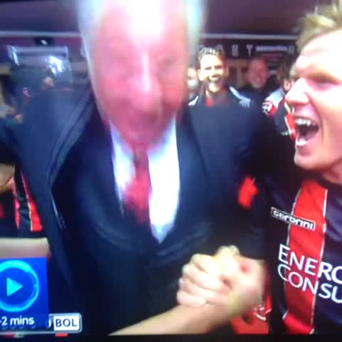 Vine by Jamie - Bournemouth chairman live on Sky sports ????
