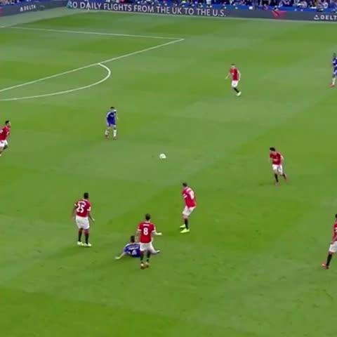Vine by Chelsea FC - Eden Hazard v Man Utd, 2015...