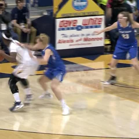 Vine by bcsnsports - Former ND Eagle and current Rocket freshman Kaayla McIntyre posted 15 pts off the bench in a win over UB!