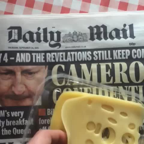 Vine by Olaf Falafel - The Cheese Of Truth Vs The Daily Mail