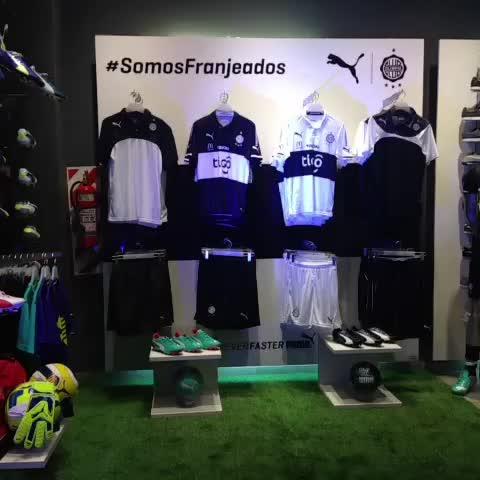 Vine by El Club Olimpia - Autografiando la primera camiseta vendida. #SomosFranjeados