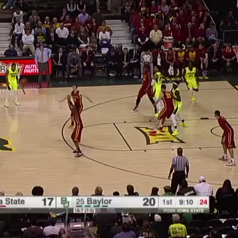 Vine by ESPN College BBall - We dont need to see any more. Crown him. Taurean Prince with the Dunk of the Night.