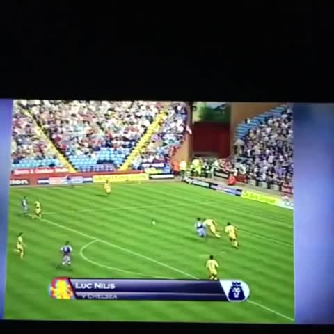 Vine by Aston Villa Media - Luc Nilis What a goal !! #AVFC what a player he could of been