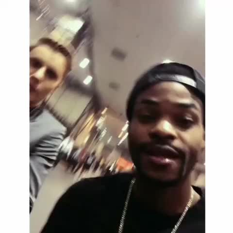 Vine by Justin Bieber Updates - kingbach: On the way to the fight yall 😂 - via @shots #JustinBieberUpdates