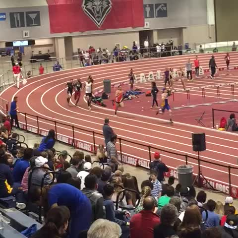 Vine by UTEP Track & Field - Daniel Tarango finishes second in the 600m run with a personal best of 1:20.40!