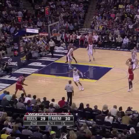 Vine by Chicago Bulls - Nikola Mirotic hit more threes than Vine can show in six seconds.
