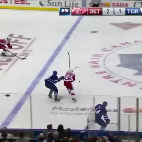 Richard Panik lowers the boom. #TMLtalk - Vine by Toronto Maple Leafs - Richard Panik lowers the boom. #TMLtalk