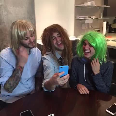 Vine by Josh Peck - Girls reacting to Nash Grier vine account getting hacked Curtis Lepore, Brent Rivera