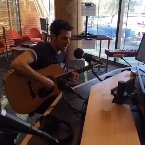 Vine by Jessica Hinchliffe - @liormusic live with @davidcurnow on @612brisbane with This Old Love #music #Brisbane