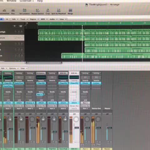 Vine by SirQwest - @SirQwest in the studio working on a track with @MayjahLeague #studiolife #NoDaysOff #HipHop #nyc #Producerlife #logicpro #