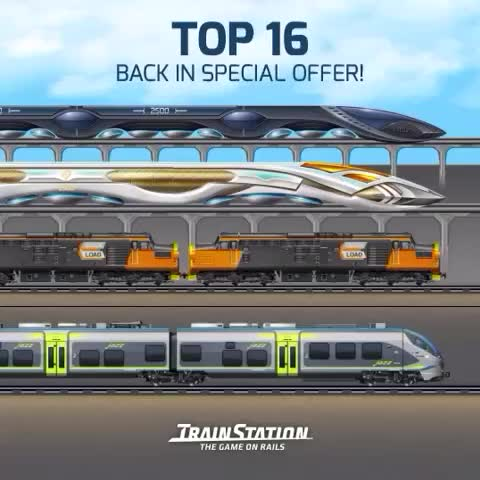 Vine by pixelfederation - Top 16 on Special Offer #trainstation #trains