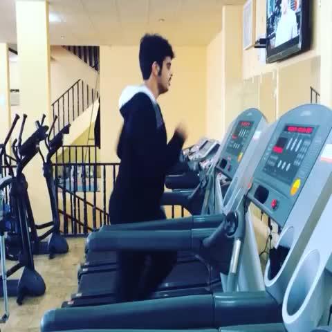 "Watch Ebra Saab's Vine ""Gym is life"