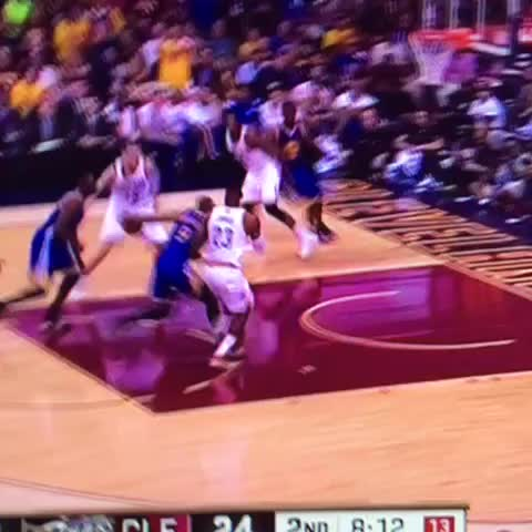 "Watch Tomizille's Vine ""Mozgov rejects Iguodala #cavs #warriors #nba #finals #mozgov #block"""