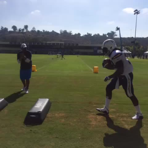 Watch San Diego Chargers S Vine Quot Run Melvin Run