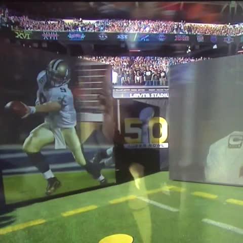 Vine by New Orleans Saints - Thats my quarterback! #SB50 #Saints