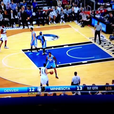 Vine by On The Prowl - Rubio to Wiggins!! #Bounce