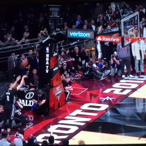 Vine by LegionNBA - LaVine, from out of bounds!!
