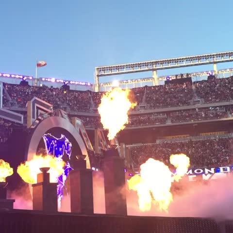 Vine by WWE - The Deadman rises #WrestleMania