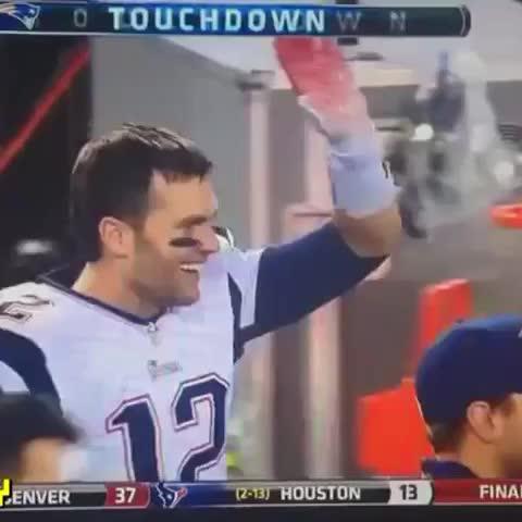 Vine by TrashTalkNFL - Tom Brady walking out of court like. #DeflateGate
