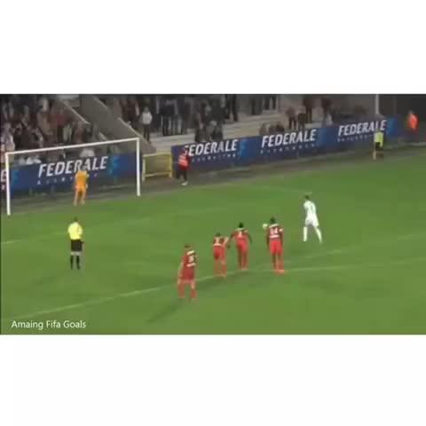 Vine by Amazing Fifa Goals - PK fail! Nah just kidding #soccer