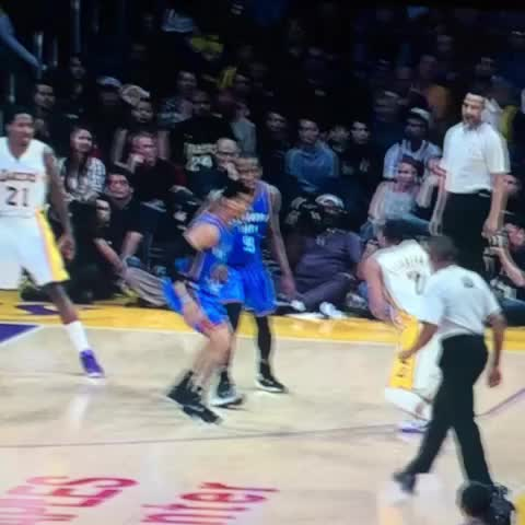 Vine by Anthony Slater - Jeremy Lamb block to the and-1 finish