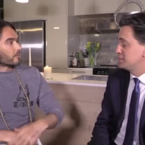 Every time Ed Miliband told Russell Brand he was wrong #MiliBrand - Vine by Biffed - Every time Ed Miliband told Russell Brand he was wrong #MiliBrand