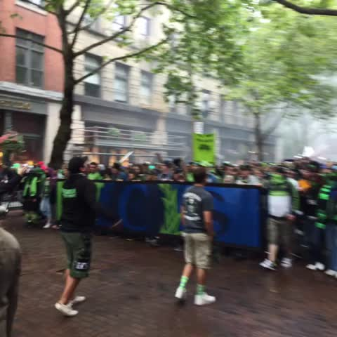 Vine by Seattle Sounders FC - WE LOVE OUR BOYS IN FAMOUS GREEN...