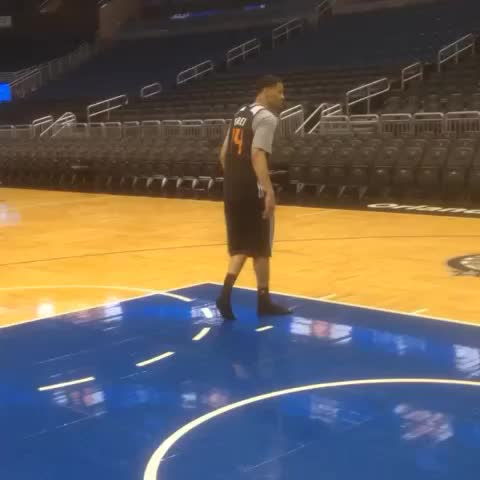 Vine by Suns - Today at practice, Gerald Green proved it isnt only the shoes.
