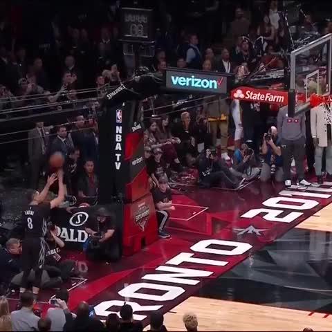 Vine by NBA on TNT - Zach LaVine Final Dunk