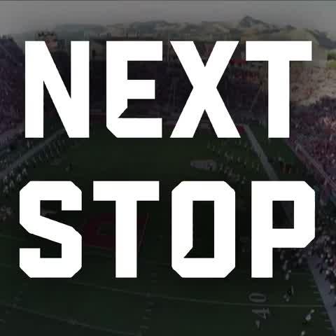 Hey Utah Football, well see you in a week. - Vine by College GameDay - Hey Utah Football, well see you in a week.