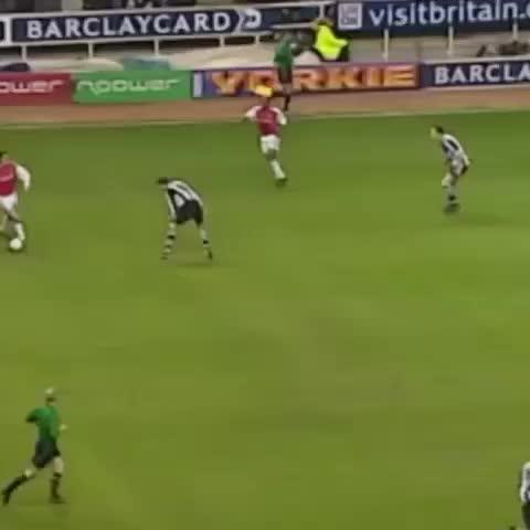 Vine by AllFootballLive - On this day in 2002, Dennis Bergkamp scored that goal vs Newcastle!