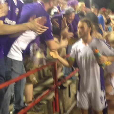 Vine by Louisville City FC - Scotty Goodwin and Matt Fondy thank the fans