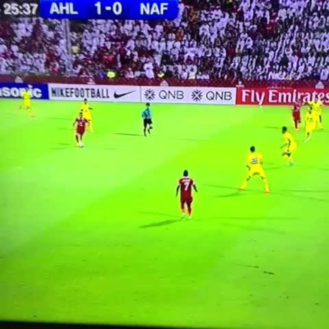 الهدف الأول للاهلي الإماراتي في مرمى النفط - دوري أبطال آسيا