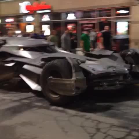 Vine by Mark Daniell - The Batmobile cruising down Yonge Street. #SuicideSquad #toronto
