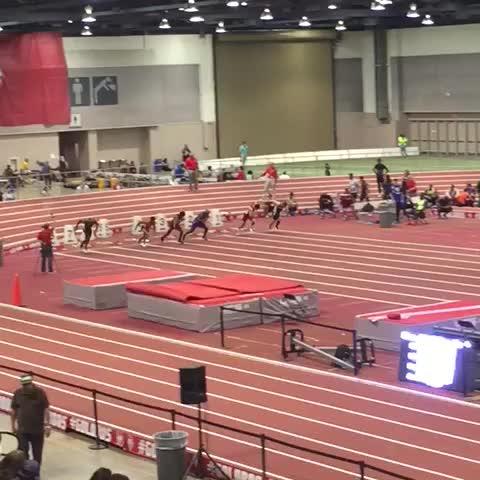 Vine by UTEP Track & Field - Isak Washington runs a season best 60m dash of 6.86!
