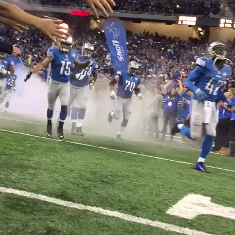 Detroit Lionss post on Vine - #DefendTheDen - Detroit Lionss post on Vine