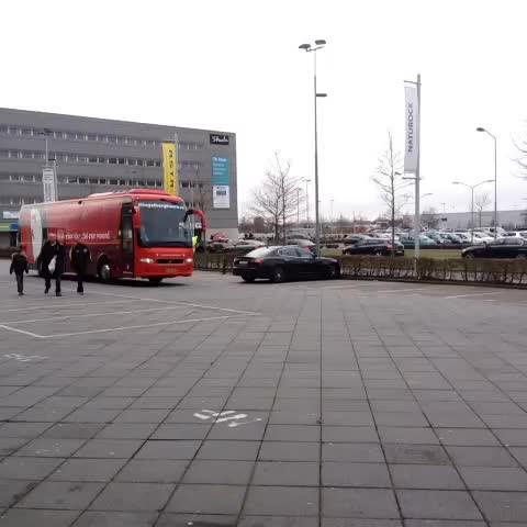 Vine by Feyenoord Rotterdam - Aankomst van Feyenoord in Breda #nacFEY