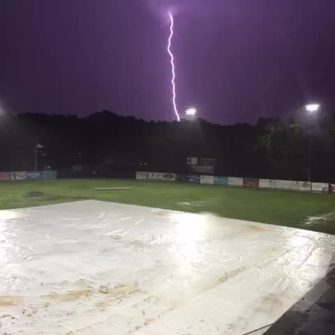 Vine by Tommy Hamzik - Some crazy lightning out here. Just replay that first second