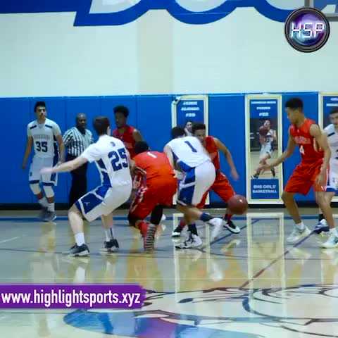 Vine by Highlight Sports - HSP Highlight of the Night - Down 1 w/ 1:30 to go, @tyrek2eal SLAMS HOME go-ahead DUNK off the Euro Step!!!