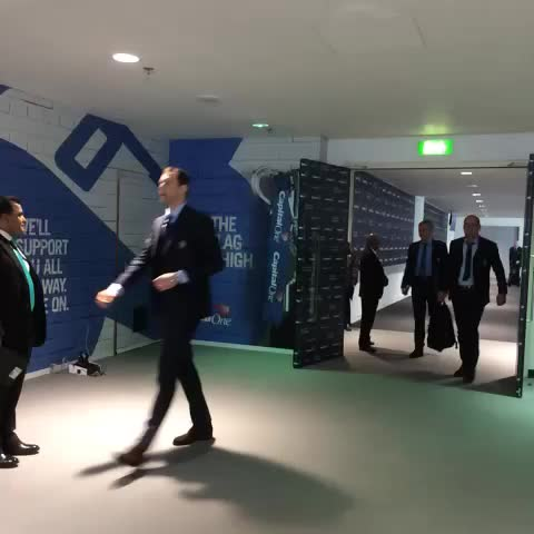 Vine by Chelsea FC - Jose Mourinho arriving at Wembley... #CFC #ChelseaFC
