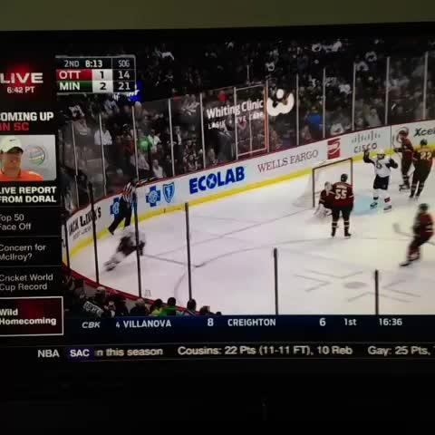 Vine by Chad Graff - Im sorry, @SportsCenter anchor, how do you pronounce Devan Dubnyk?? #mnwild