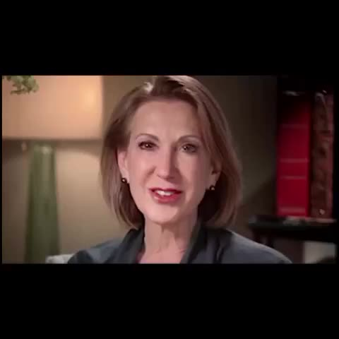 """Vine by Chris Moody - Carly Fiorinas campaign jingle + logo sure feels a lot like """"The More You Know"""" campaign."""