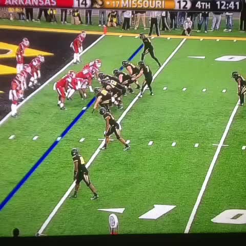 Barrett Sallees post on Vine - Mizzou trick play for the two-point conversion. - Barrett Sallees post on Vine