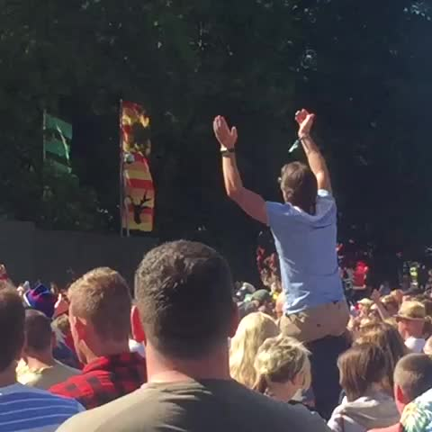 Vine by Daniel Crann - This is why Dad shouldnt dance on shoulders whilst at @KendalCalling