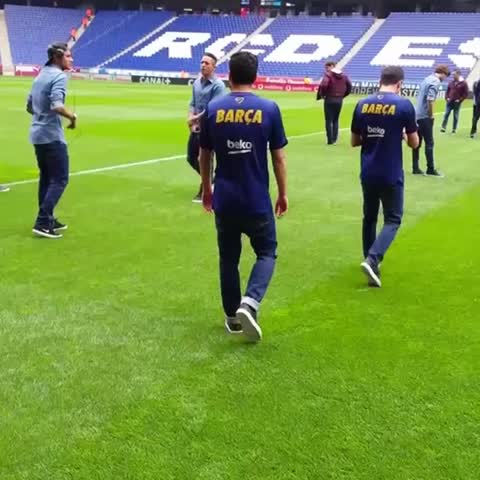 Vine by FC Barcelona - Power8 Stadium #EspanyolFCB #VineFCB #fcblive
