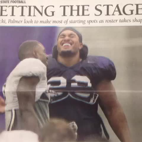 Tomorrows CDT features a load of Penn State Football week 1 updates...thats a printing press, kids. - Vine by Jourdan Rodrigue - Tomorrows CDT features a load of Penn State Football week 1 updates...thats a printing press, kids.