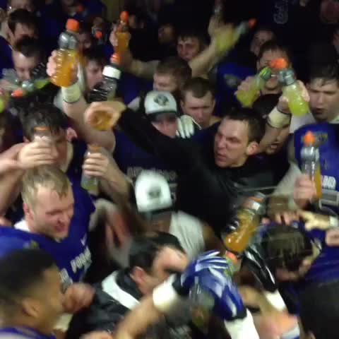 Only one way to celebrate a 10 win season! - Vine by Air Force Football - Only one way to celebrate a 10 win season!