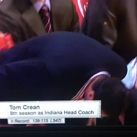 Vine by Clem - Tom Crean getting loose before tonights game