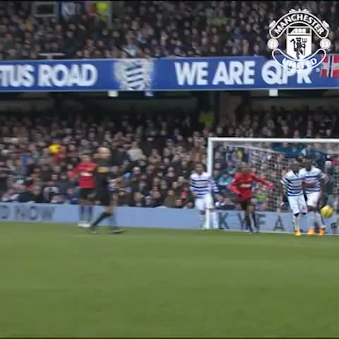 Vine by Manchester United - You just dont save those! Another wonder-goal at QPR... this time from Rafael (@orafa2). #mufc